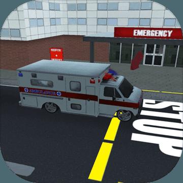 先锋救护车3d模拟